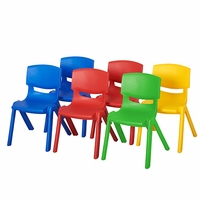"10"" Resin Chair (6 Pack)"