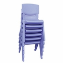 "ELR 16"" Resin Chair (6 Pack)"
