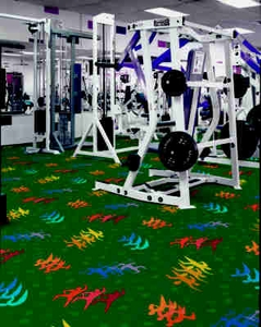 "Fitness Zone - Broadloom 13'6"" - per Square Yard"
