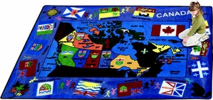 "Flags of Canada - 5'4"" x 7'8"" Rectangle"