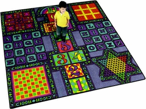 Fun 'N' Games - Broadloom 12' - per Square Yard