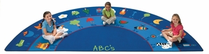 "Fun with Phonics Seating Rug 6'8"" x 13'4"""