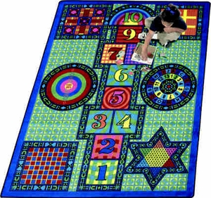 "Games Galore Kids Carpet - 7'8"" x 10'9"" <br>"