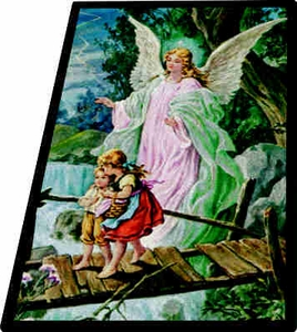 "Guardian Angel - 7'8"" x 10'9"" Rectangle"