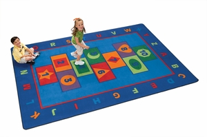 Hopscotch Learning Rug