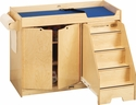 Jonti-Craft� Changing Table - with Stairs - Right