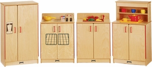 Jonti-Craft Birch Play Kitchen Set (4 pc.)