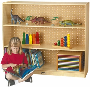 JonTi-Craft Mega Straight-Shelf Single