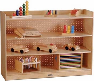 JonTi-Craft Mobile Bookcase w/ Lip