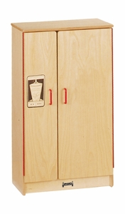 Jonti-Craft® Natural Birch Play Kitchen Refrigerator