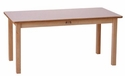Large Rectangle Table - White