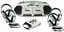 Learning Center w/ Dual Cassette Recorder/CD Player