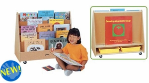 Mobile Pick-a-Book Stand - 1-Sided