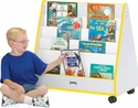 Mobile Pick-a-Book Stand 1-Sided w/ Casters