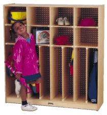 "Neat -n- Trim Lockers - 8 Sections 48"" Wide"