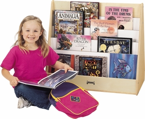 Jonti-Craft® Stationary Double Sided Pick-a-Book Stand