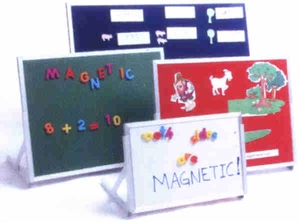 Porcelain Markerboad Magnetic Language Board