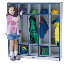 RA Coat Locker 5 Sections