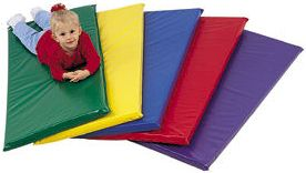 "Kids Rainbow Rest Mat 2"" - Blue"