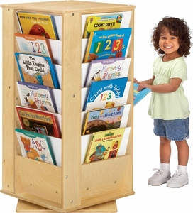 Revolving Literacy Tower - Small