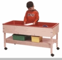 Sand and Water Table w/ Shelf