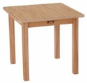 Square Table - Maple