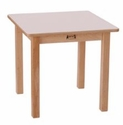 Square Table - White