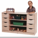 Storage Unit with 8 Drawers