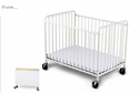 StowAway Compact Steel Folding Crib<br>