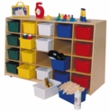 Tip-Me-Not 20-Tray Storage Unit<br>