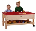 Toddler Height Sand-n-Water Table with Shelf