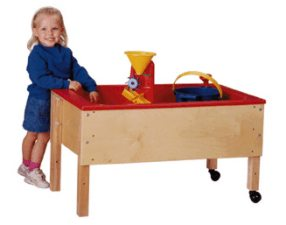 Toddler Height Space Saver Sand-n-Water Table