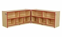TOT Hinged Storage Unit w/ Casters
