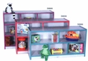 """TOT Single Sided Storage Unit (2"""" casters)"""