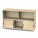 TrueModern Storage Shelves - Low