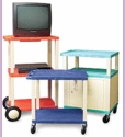 Tuffy Plastic Cabinet and Utility Cart