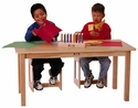 Wood Tables for Children