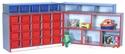 YOUTH Hinged Storage and Cubbie Unit