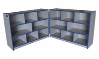 YOUTH Hinged Storage Unit w/ Casters