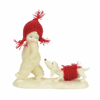 "Department 56 Snowbabies - ""Trailing Behind"""