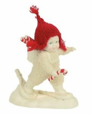 "Department 56 Snowbabies - ""Snowshoe Deliveries"""