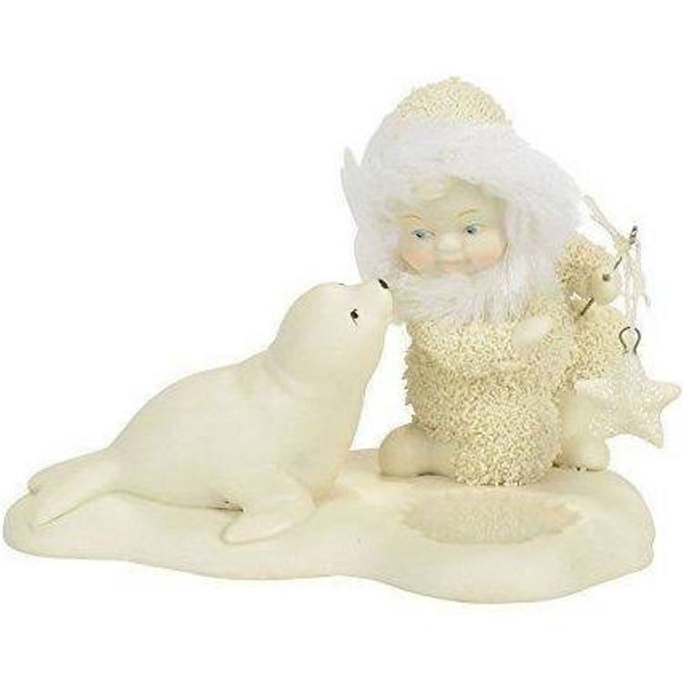 Department 56 Snowbabies - Go Fish