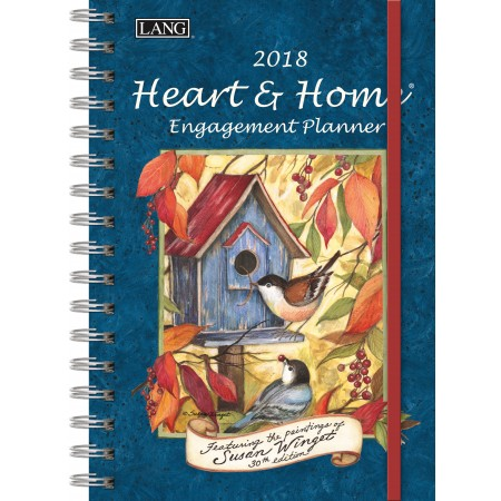 "2018 Lang Engagement Planner - ""Heart & Home"""