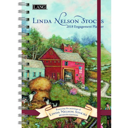 "2018 Lang Engagement Planner - ""Linda Nelson Stocks"""