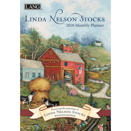 "2018 Lang Monthly Planner - ""Linda Nelson Stocks"""