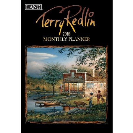 "2018 Lang Monthly Planner - ""Terry Redlin"""
