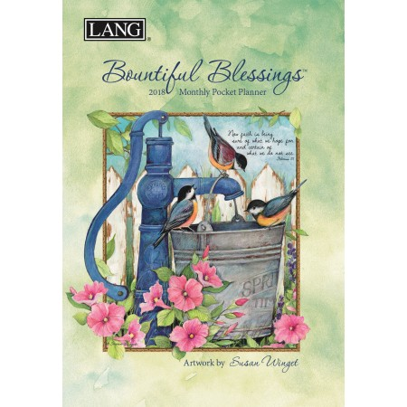 "2018 Lang Pocket Planner - ""Bountiful Blessings"""