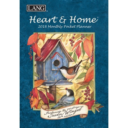 "2018 Lang Pocket Planner - ""Heart & Home"""
