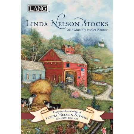 "2018 Lang Pocket Planner - ""Linda Nelson Stocks"""