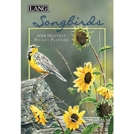 "2018 Lang Pocket Planner - ""Songbirds"""